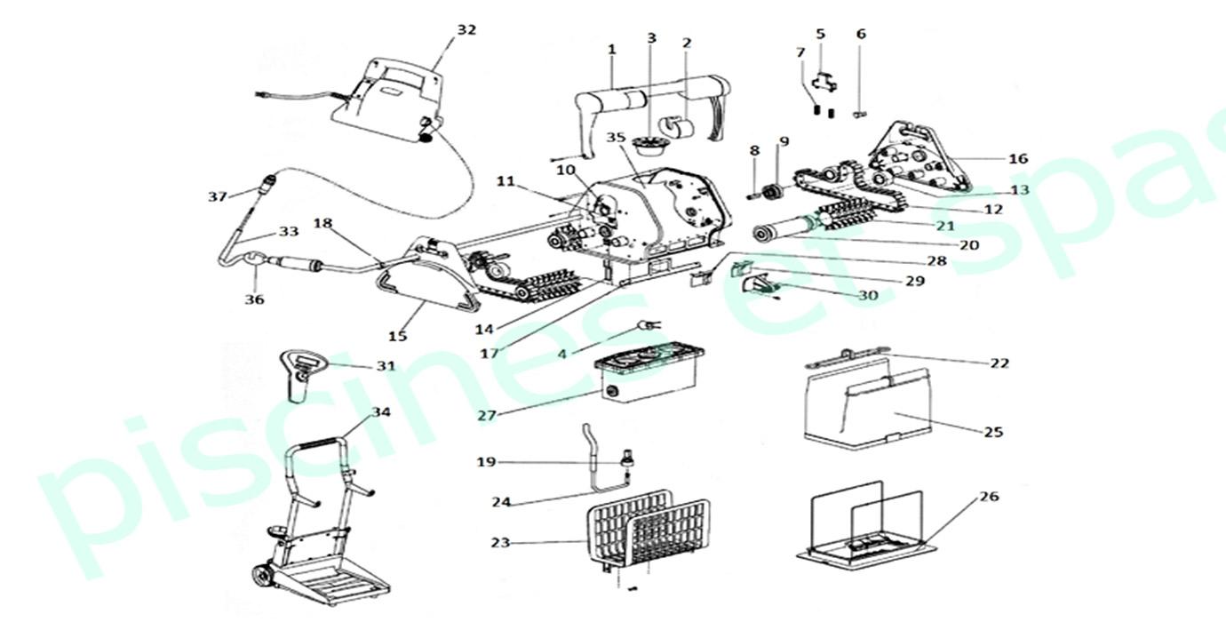 Aspirateur électrique : découvrez le meilleur robot de piscine